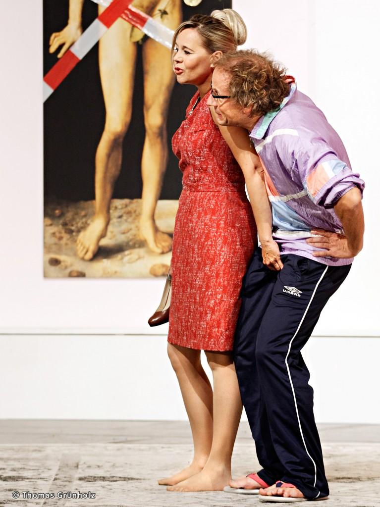 Die Selbstanzeige Von Francis Veber,Deutsch von Dieter Hallervorden, Schloßparktheater Berlin 06.09.2014